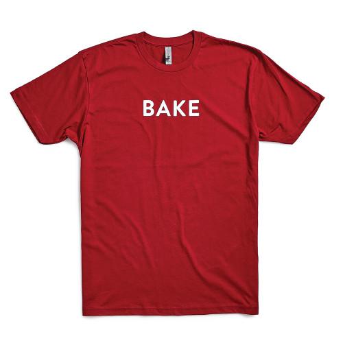 Product Photo 1 Unisex Bake Tee - Cardinal Red