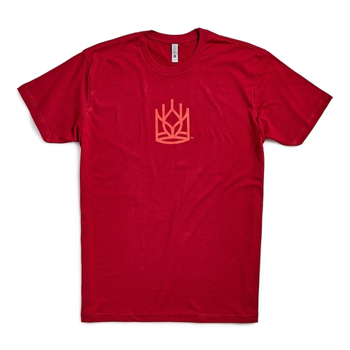 Product Photo 1 Unisex Crown Tee - Cardinal Red