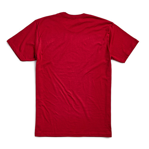 Product Photo 2 Unisex Crown Tee - Cardinal Red