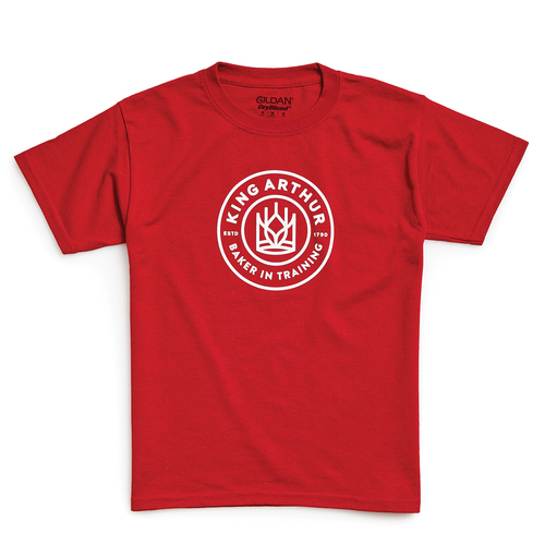 Product Photo 1 Youth Baker in Training  Tee  - Red