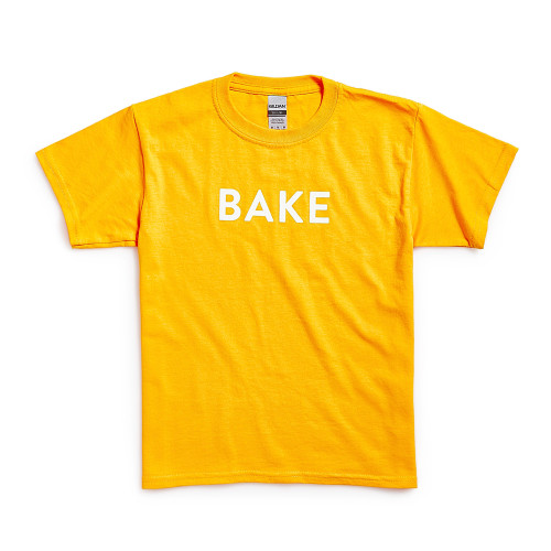 Product Photo 1 Youth Bake Tee - Gold
