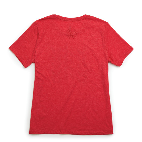 Product Photo 2 Ladies Relaxed Fit Wheat Plait Tee - Red