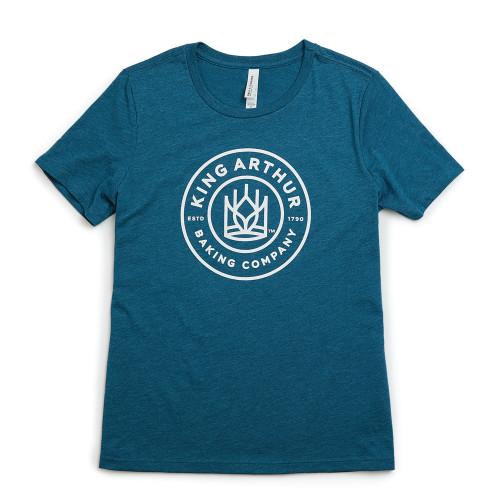 Product Photo 1 Ladies Relaxed Fit Classic King Arthur Tee - Deep Teal