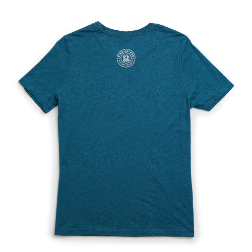 Product Photo 2 Ladies Relaxed Fit Bake Tee - Deep Teal