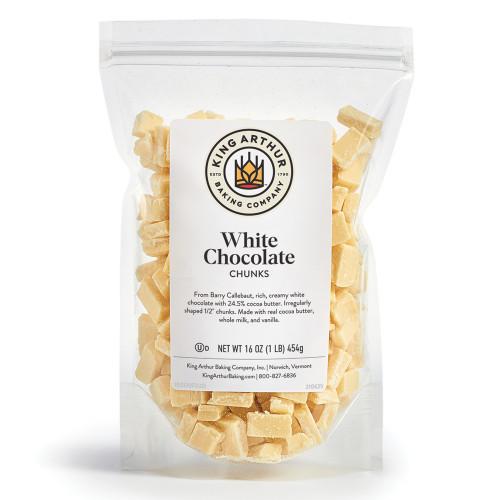 Product Photo 2 Callebaut White Chocolate Chunks - 16 oz.