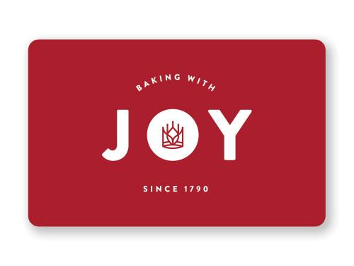 Gift Card Bake with Joy