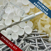 Stainless Pro-Tect Pool Fastener Kit - White