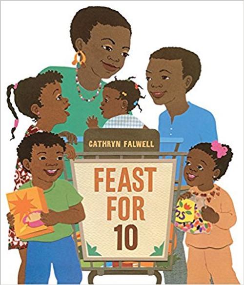 Feast for 10 (Big Book) by Cathryn Falwell