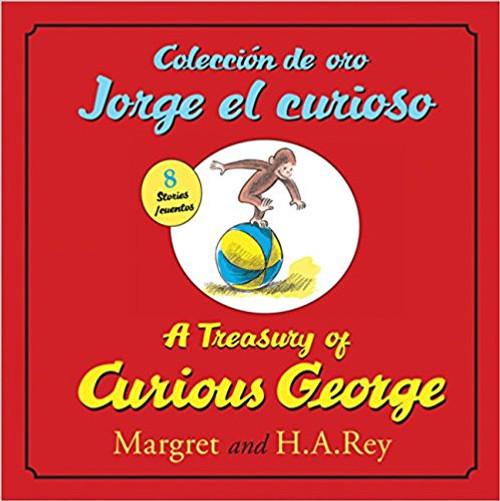 Coleccion de Oro Jorge El Curioso/A Treasury of Curious George (Hard Cover) by H A Rey