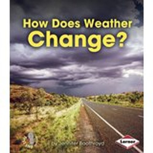 <p>Why is it sunny outside one day and rainy the next? Readers will learn the ins and outs of why weather changes in this book. Accessible text and appealing photos show changing weather conditions and encourage students to observe and think about the changing weather in their own environments.</p>