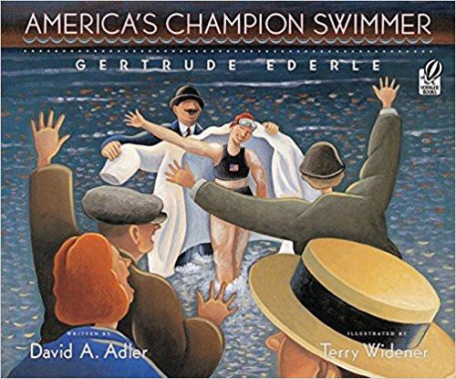 Americas Champion Swimmer by David A Adler
