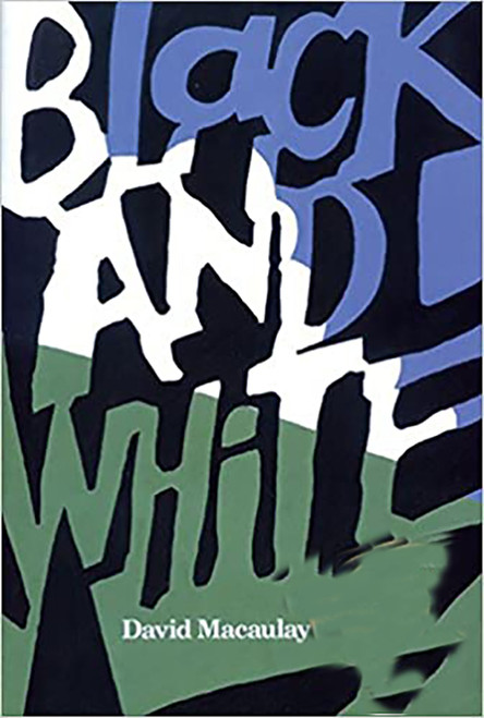 Black and White (Paperback) by David Macaulay