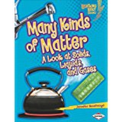 <p>This informative title uses accessible text and concrete examples to explain the different states of matter--a key science concept in grades K-2.</p>