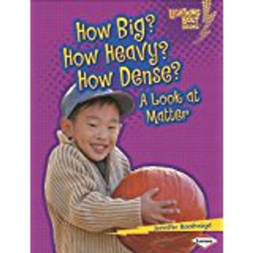 <p>This informative title uses accessible text and concrete examples to explain matter--a key science concept in grades K-2</p>