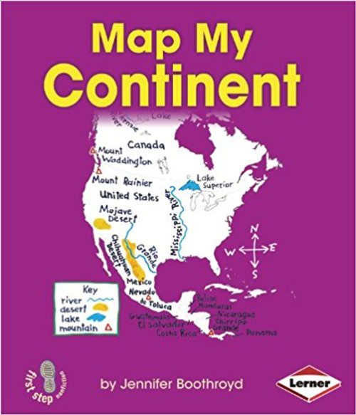 Map My Continent by Jennifer Boothroyd