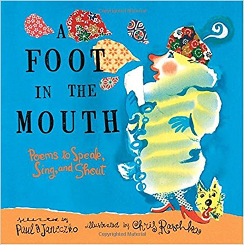 A Foot in the Mouth: Poems to Speak, Sing and Shout (Paperback) by Paul B Janeczko