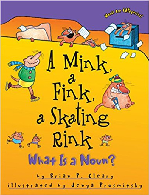 A Mink, a Fink, a Skating Rink: What Is a Noun? by Brain P Cleary