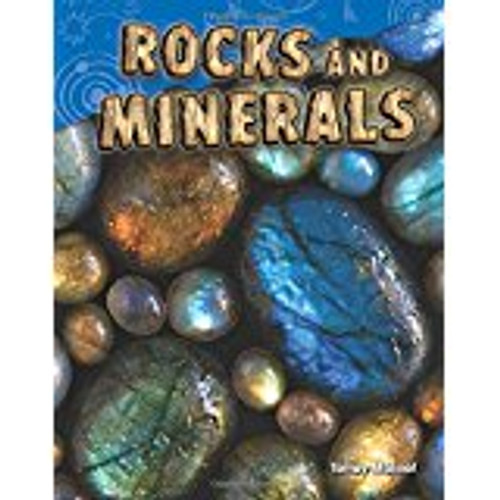 <p>Learn all about rocks and minerals and how we study them. Almost all rocks are made of minerals. Learn about the three different types of rocks: igneous rocks, sedimentary rocks, and metamorphic rocks. A rock can even transform over millions of years from one type of rock to another during the rock cycle. Easy-to-read text paired with vibrant images keep students engaged from cover to cover. This reader also includes instructions for an engaging science activity where students can see how crystals form.</p>