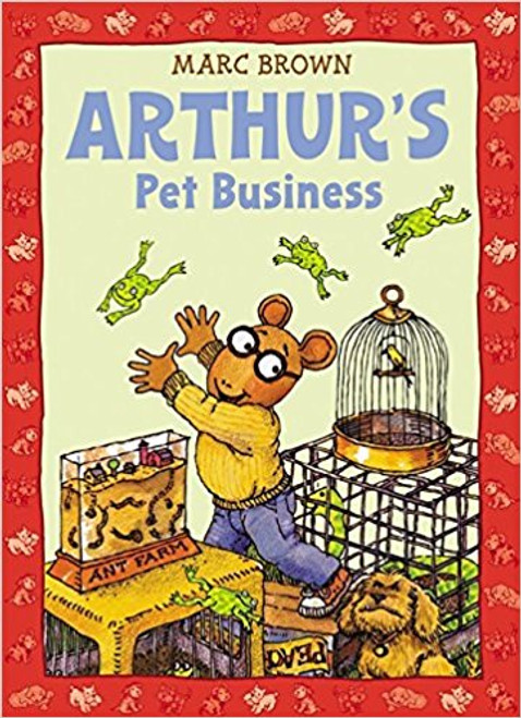 Arthur's Pet Business by Marc Tolon Brown