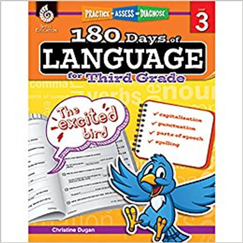 180 Days of Language for Third Grade by Christine Dugan