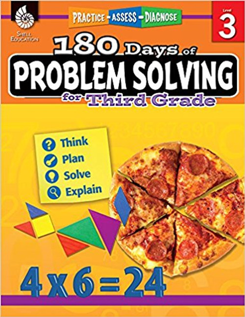 180 Days of Problem Solving for Third Grade by Kristin Kemp
