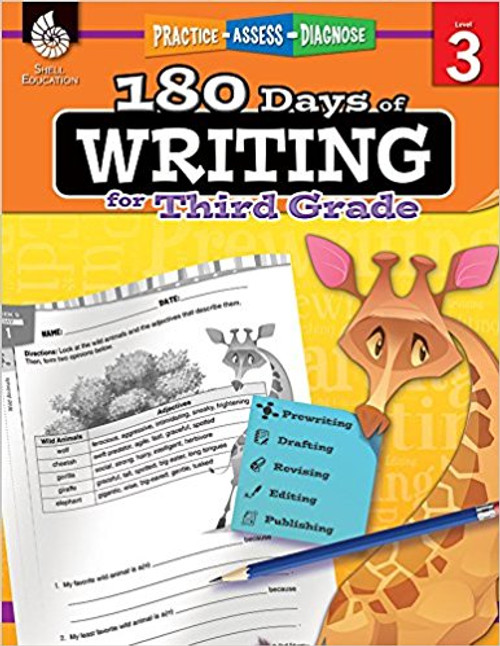 180 Days of Writing for Third Grade by Kristi Sturgeon