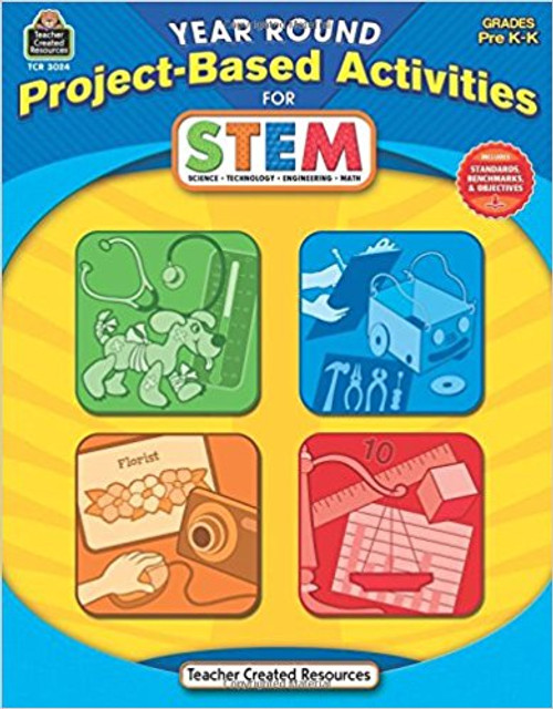 Year Round Project-Based Activities for STEM, Grades 2-3 by Steve Butz