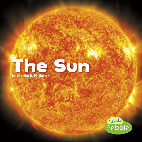 <p>Simple text and full-color photographs describe the Sun</p>