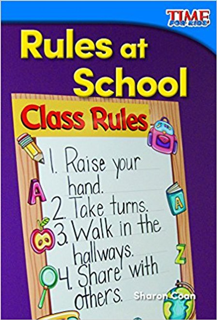 Rules at School by Sharon Coan