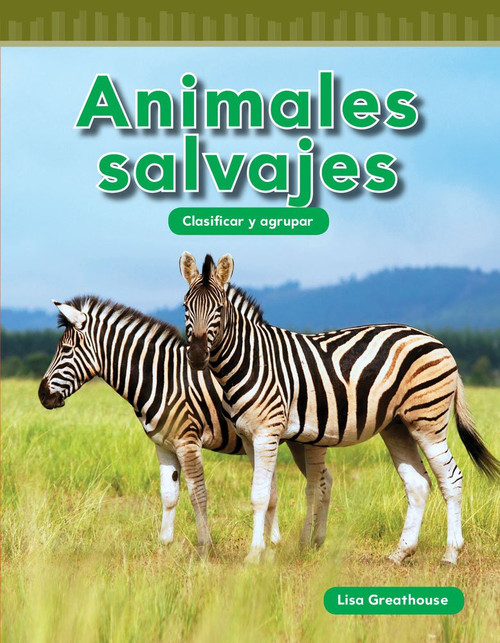 "<p>There are all kinds of ways to sort wild animals! This fun, Spanish-translated title teaches young readers how to recognize animals' different qualities and sort them into sets, familiarizing children with set theory, data analysis, and early STEM themes. With the help of fun, familiar images, engaging ""You Try It!"" problems, and a glossary, children will be able to sort animals into many different categories--big or small, fast or slow!</p>"