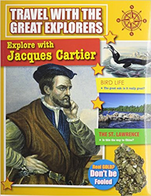 Explore with Jacques Cartier by Marie Powell
