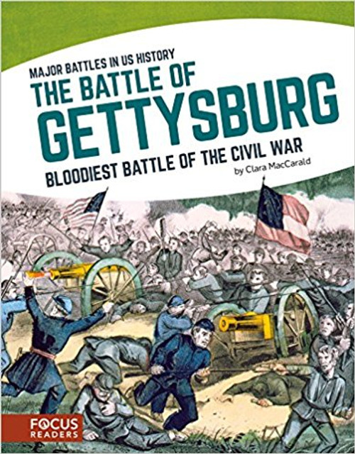 The Battle of Gettysburg: The Bloodiest Battle of the Civil War by Clara Maccarald