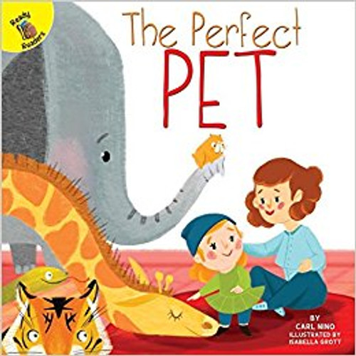 The boy wants a pet. The animals he sees are too big or too scary. Will he ever find the perfect animal?