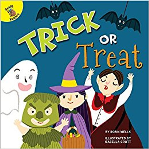Knock, knock. Trick or treat! It's Halloween. Come see all the different monsters and creatures looking for candy.