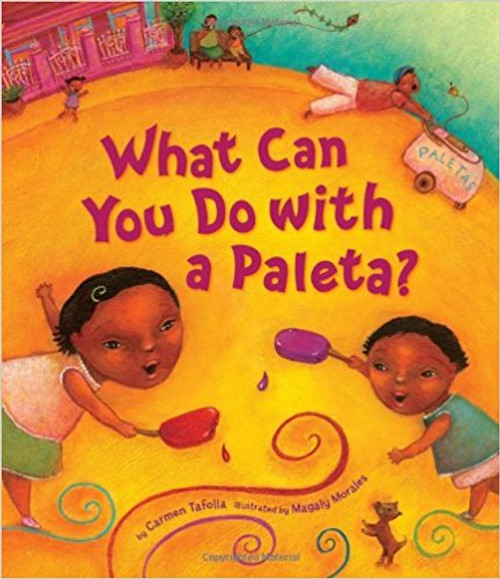 Create a masterpiece, make tough choices (strawberry or coconut?), or cool off on a warm summer day--there's so much to do with a paleta. A young girl introduces readers to this frozen, fruit-flavored treat that thrills Mexican and Mexican-American children.