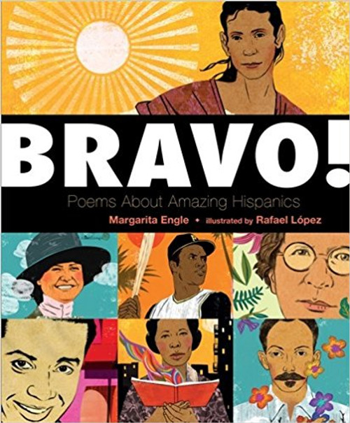 Bold, graphic portraits and beautiful poems present famous and lesser-known Latinos from varied backgrounds who have faced life's challenges in creative ways