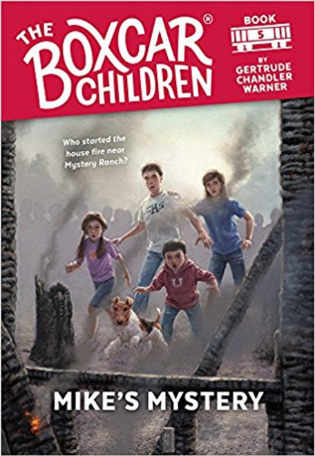 The Boxcar Children are spending the summer on Mystery Ranch with their grandfather. The excitement begins when they meet their old friend, Mike. When Mike is blamed for starting a fire, the Boxcar Children must solve the mystery.