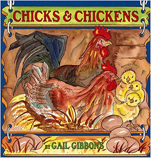Domestic chickens are an essential part of the agriculture and food production in America. Gibbons takes a look at how chicken eggs are developed for human consumption and at how fertilized eggs develop into embryos and finally into fuzzy little baby chicks. The behaviour of chicks, hens, and roosters is discussed, and descriptions of the different breeds of chickens across America are provided. Once again Gibbons provides a colourful, accessible account of this familiar, domesticated bird.