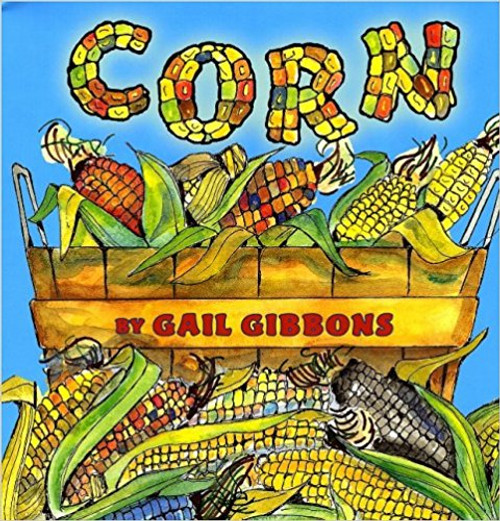 Perennial nonfiction favourite Gail Gibbons turns her spotlight on corn. Popcorn, corn on the cob, corn dogs, cornflakes--corn is used in many children's favorite foods. This book offers a cornucopia of information about the history of corn as well as details concerning planting, cultivation, harvesting, and its many uses.