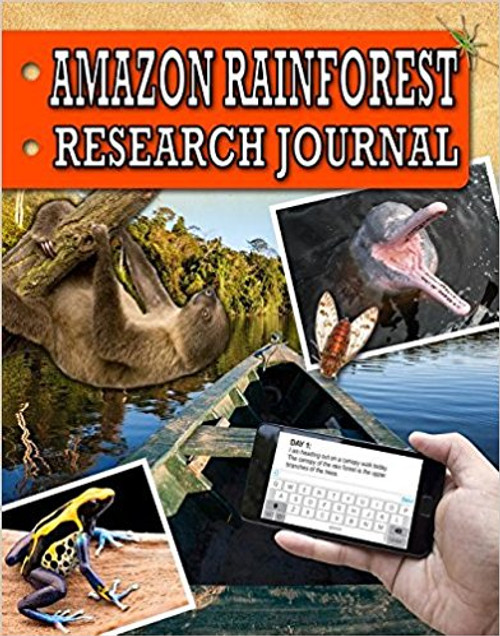 Amazon Rainforest Research Journal by Natalie Hyde