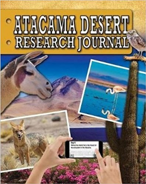 Atacama Desert Research Journal by Sonya Newland