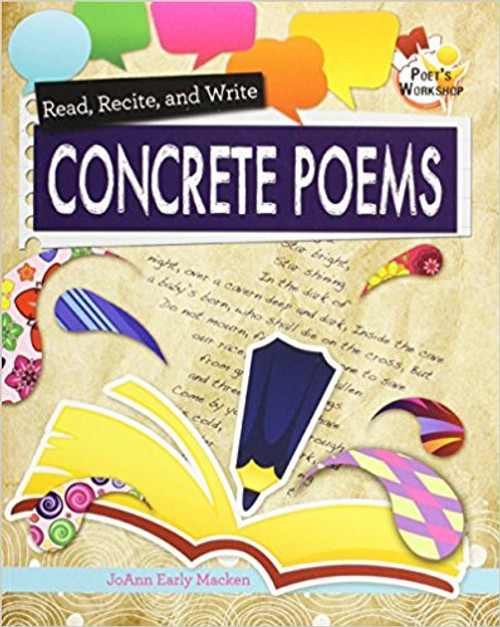 Read, Recite, and Write Concrete Poems (Paperback) by JoAnn Early Macken