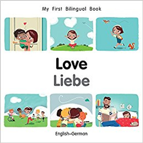 Love/Liebe (German) by Millet Publishing