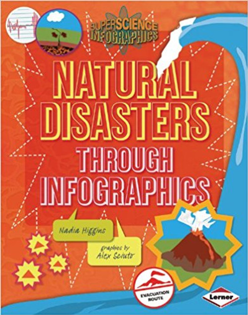 Natural Disasters through Infographics by Nadia Higgins