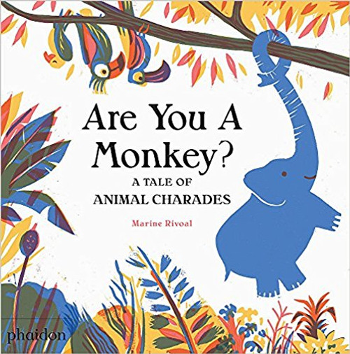 Are You a Monkey?: A Book of Animal Charades by Marine Rivoal