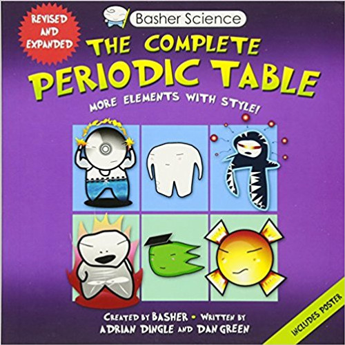 Basher Science: The Complete Periodic Table: All the Elements with Style! by Adrian Dingle