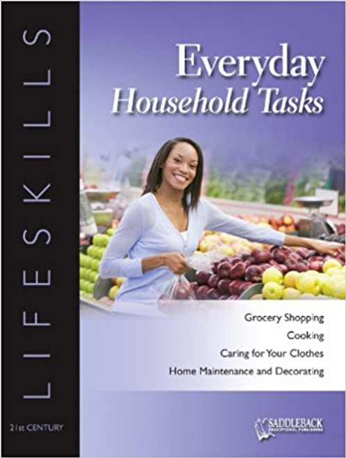 Everyday Household Tasks Student Worktext - 21st Century Lifeskills