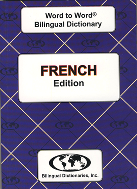 French BD Word to Word® Dictionary