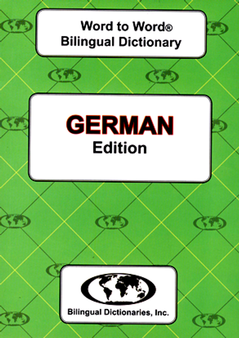 German BD Word to Word® Dictionary