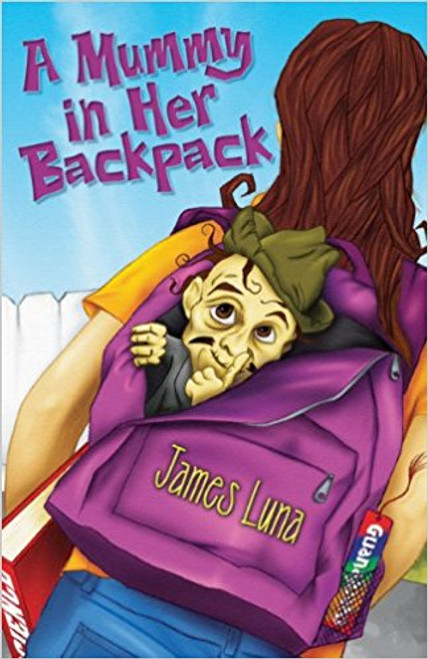 A Mummy in Her Backpack / Una momia en su mochila by James Luna
